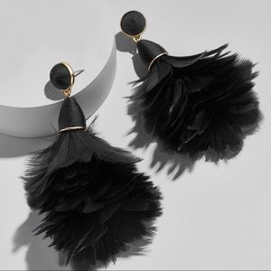 Baublebar Parisian feather earrings